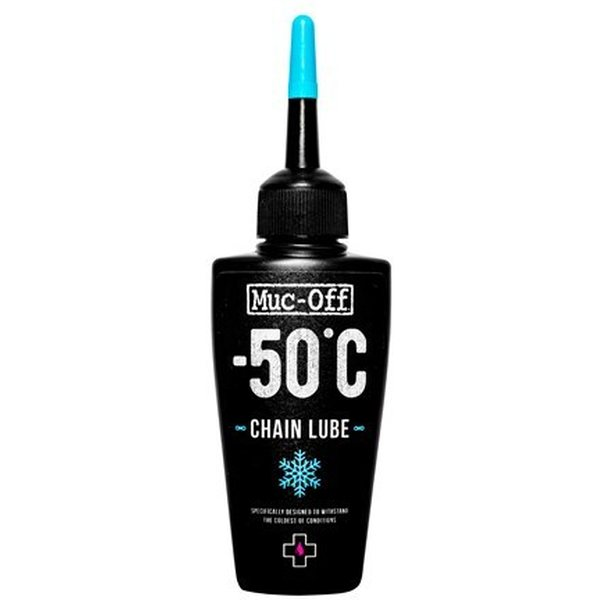 a picture of chain lube from Muc-Off made for einter conditions